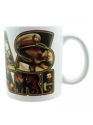 Rastafari Haile Selassie New Bone China Mug