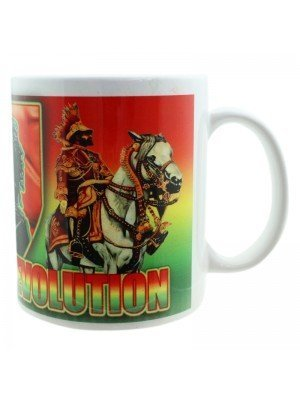 Rastafari Revolution New Bone China Mug