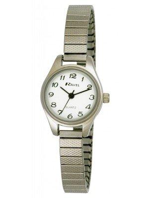 Wholesale Ravel Polished Petite Round Watch - Silver