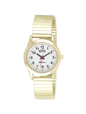 Ravel Ladies Day Date Expander- Gold