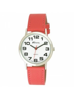 Ravel Mens Round Classic Watch - Pink