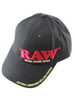 Wholesale Raw Baseball Smokin' Cap Poker - Black