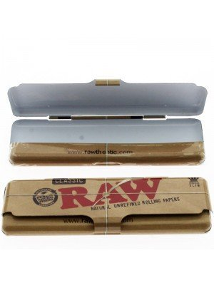 RAW Classic Tin Case Paper Holder