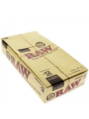 RAW Huge Classic Rolling Papers 12""
