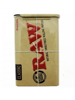 RAW Metal Sliding Top Tin