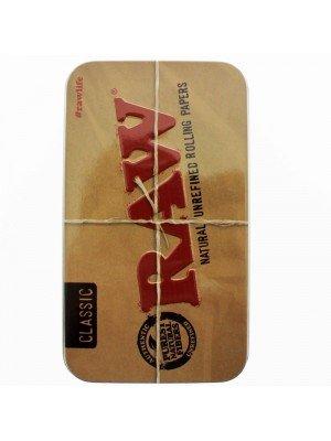 Raw Printed Tobacco Tin 2OZ