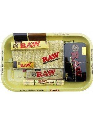 RAW Rolling Smoking Gift Set Tray- Large
