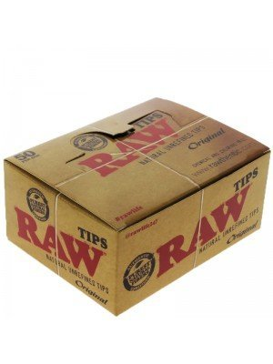 RAW Unrefined  Rolling Paper Tips