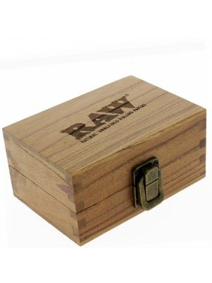 Wholesale RAW Wooden  Rolling Box (Medium)