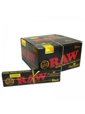 Wholesale RAW Black Classic Connoisseur King Size Slim and Tips