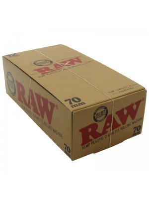 Raw Kingsize Hemp Plastic Cigarette Rolling Machine