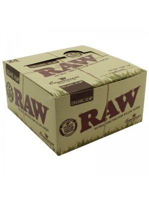 Wholesale RAW Organic Connoisseur Rolling Paper & Tips Kingsize Slim