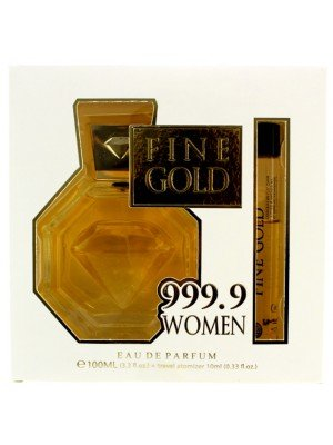 Real Time Ladies Perfume Gift Set - Fine Gold 999.9