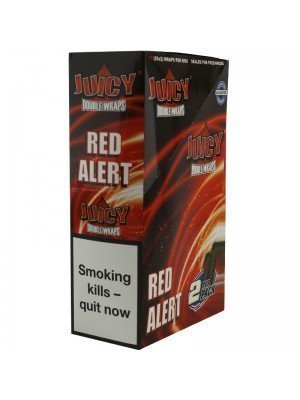 Wholesale Juicy Jay's Double Wrap - Red Alert