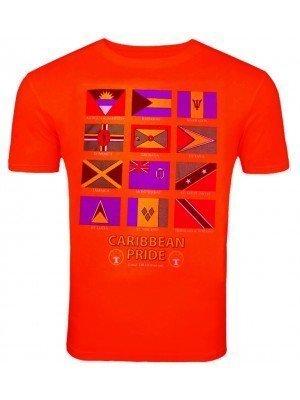 Red Caribbean Pride T-Shirt