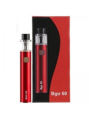 Wholesale Jomo Tech BGO 60 Electronic Cigarette Kit - Red