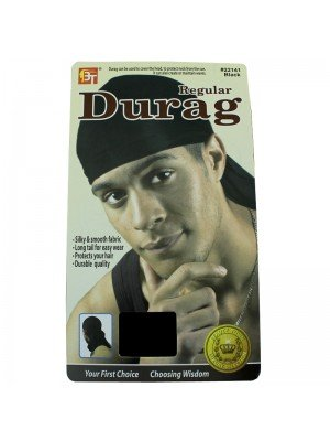 Wholesale Regular Durag - Black