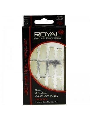 Wholesale Royal Cosmetics 'Regular' 30 Glue-on Nail Tips