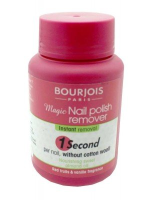 Wholesale Bourjois Paris Magic Nail Polish Remover sweet almond oil-75ml