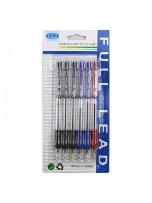 Retractable Pens in Assorted Colours