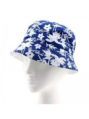Reversible Palm Tree Design Bucket Hat - Assorted sizes