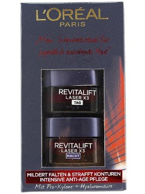Wholesale L'Oreal Revitalift Laser x3 day & night duo cream set - 15ml each