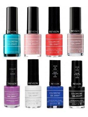 Revlon ColorStay Gel Envy Nail Polishes - Assorted Colours