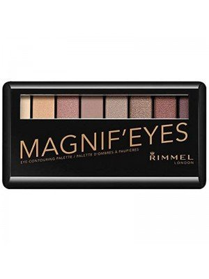 Rimmel London Magnif' Eye Contouring Palette - 002 London Nudes Calling