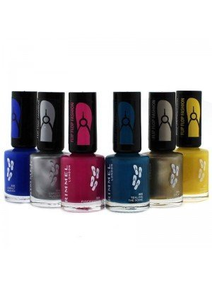 Wholesale Rimmel Flip Flop Fashion Nail Polish - Assorted