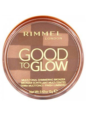 Wholesale Rimmel Good To Glow Multi-Tonal Shimmering Bronzer - Dark