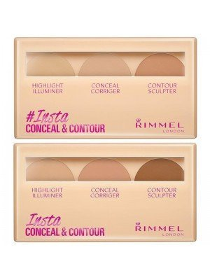 Wholesale Rimmel Insta Concealer & Contour Palette - Assorted Colours