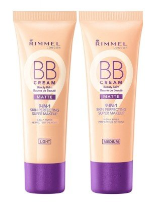 Rimmel London 9 in 1 Matte BB Cream - Assorted Shades