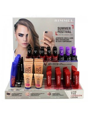 Wholesale Rimmel Makeup Assorted Tray - (Set of 52 Pcs)
