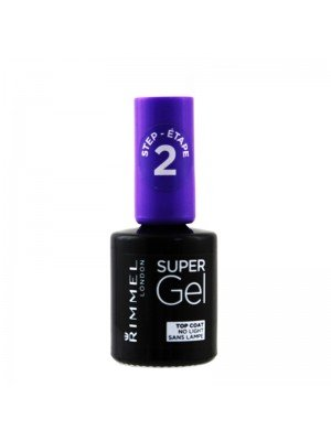 Wholesale Rimmel Super Gel Nail Polish Top Coat - Transparent