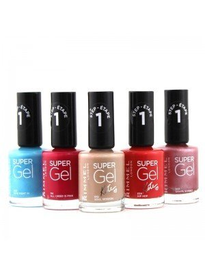 Wholesale Rimmel Super Gel Nail Varnish - Assorted