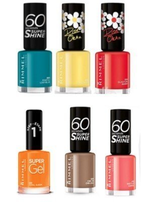 Rimmel 60 Seconds Super Shine Nail Polish - Assorted Colours