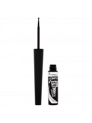 Rimmel Scandaleyes Bold 24Hr Waterproof Liquid Eyeliner - Black