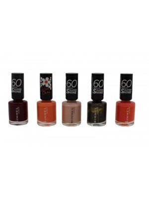 Wholesale Rimmel 60 Seconds Super Shine Nail Polish - Assorted