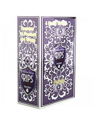 Wholesale RIPS Canadian Hemp Wraps Number 4 - Purple