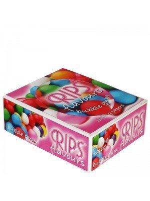 RIPS Flavours Slim Width Rolling Paper-Bubble Gum