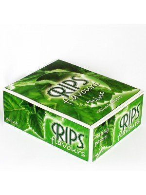 RIPS Flavours Slim Width Rolling Paper - Mint
