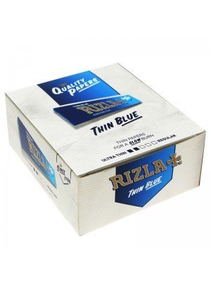 Wholesale Rizla Blue King Size Slim Rolling Papers 50 Booklets