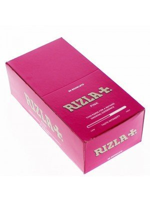 Rizla Pink Regular papers 50 Booklets