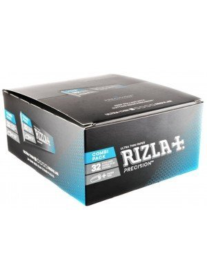 Rizla Ultra Thin King Size Super Slim Rolling Paper + Tips - Combi Pack