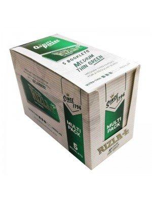 Rizla Rolling Paper Standard Green Multi Pack 5's x 20