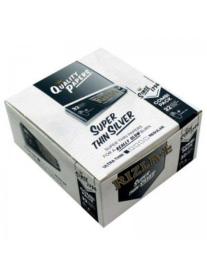 Wholesale Rizla Super Ultra Thin Silver Combi Pack (+ Tips)