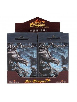 Rock Dragon Anne Stokes Incense Cones - 12 Packs