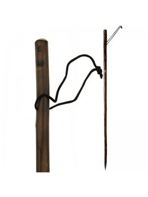 Root Flamed Scorched Walking/Hiking Stick