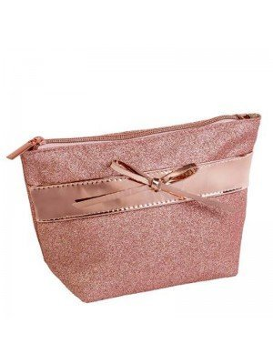 Wholesale Royal Cosmetics Rose Gold Accessory Bag