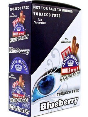 Royal Blunts XXL Tobacco Free Wraps - Blueberry